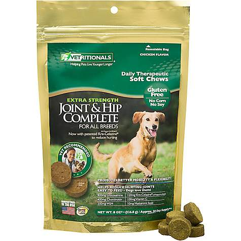 Vetritionals Joint & Hip Complete Daily Therapeutic Soft Dog Chews