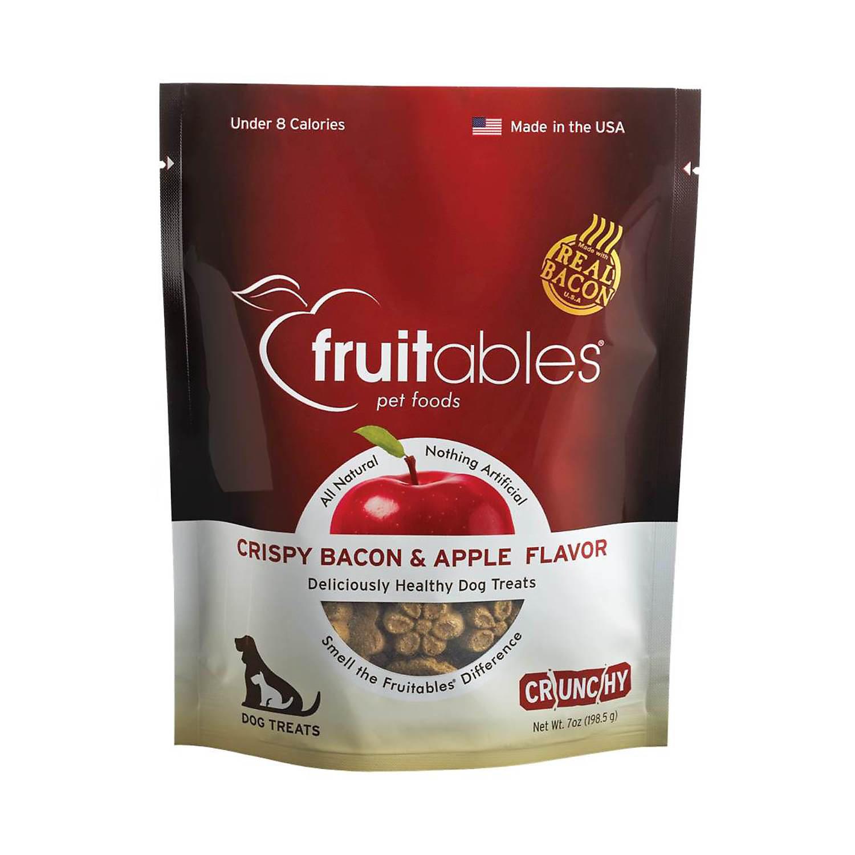 Fruitables Apple & Bacon Natural Dog Biscuits, 7 oz.