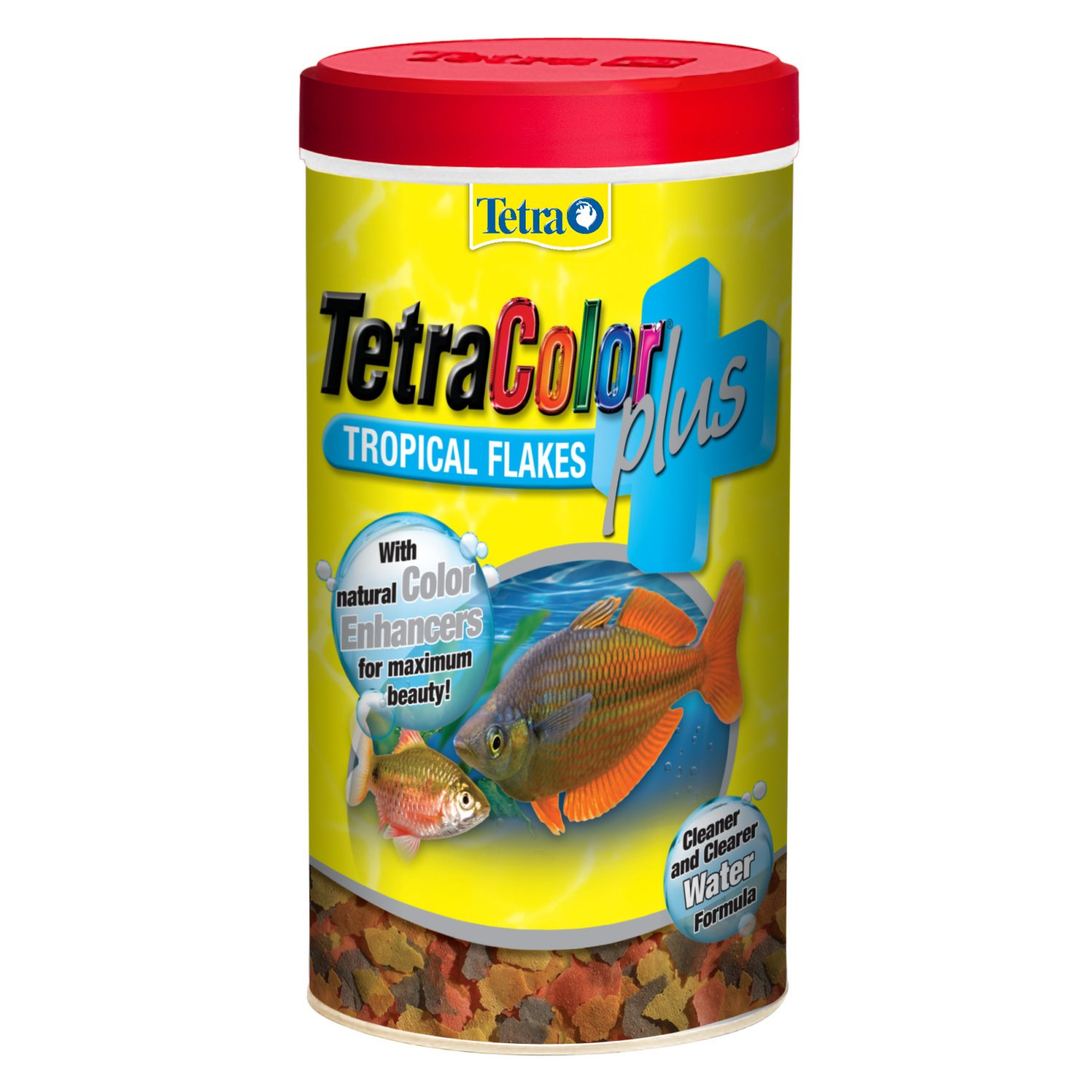 Tetracolor plus tropical flakes petco for Fish food flakes