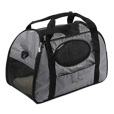 Gen7Pets Carry-Me Fashion Pet Carrier in Gray