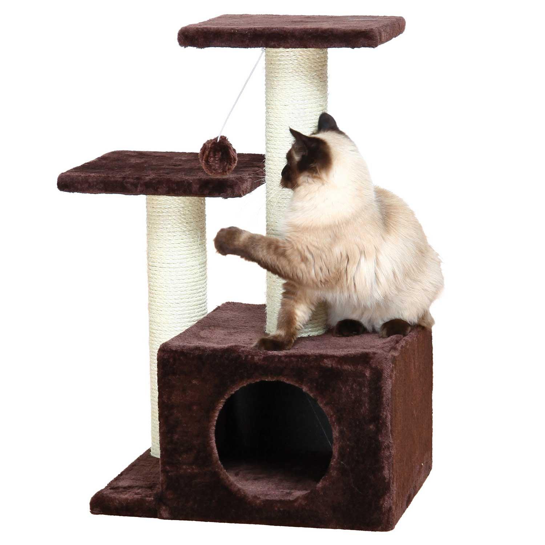 trixie valencia cat tree petco. Black Bedroom Furniture Sets. Home Design Ideas