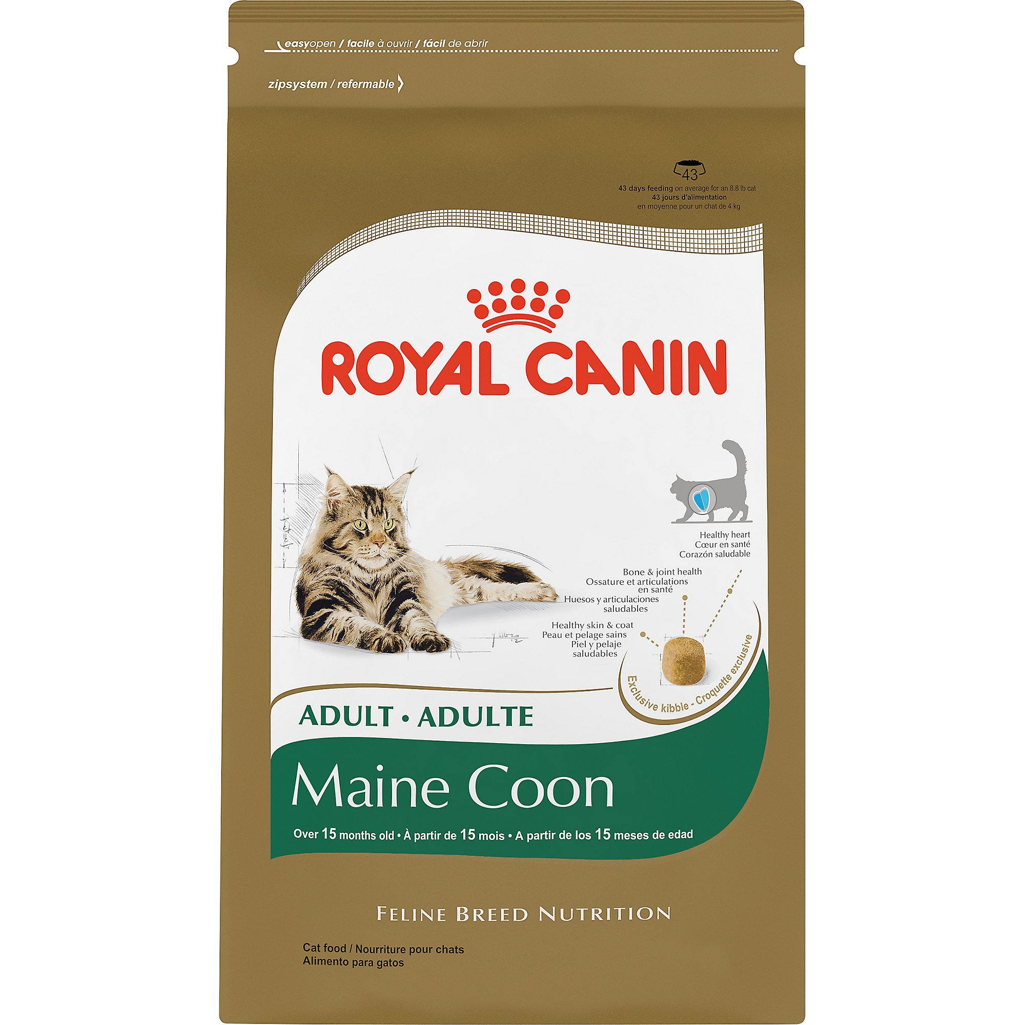 royal canin feline breed nutrition maine coon adult cat food petco. Black Bedroom Furniture Sets. Home Design Ideas