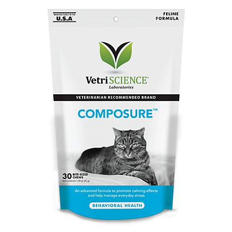 VetriScience Composure Feline Bite-Sized Chews