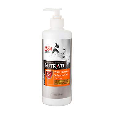 Nutri-Vet Wild Alaskan Salmon Dog Oil