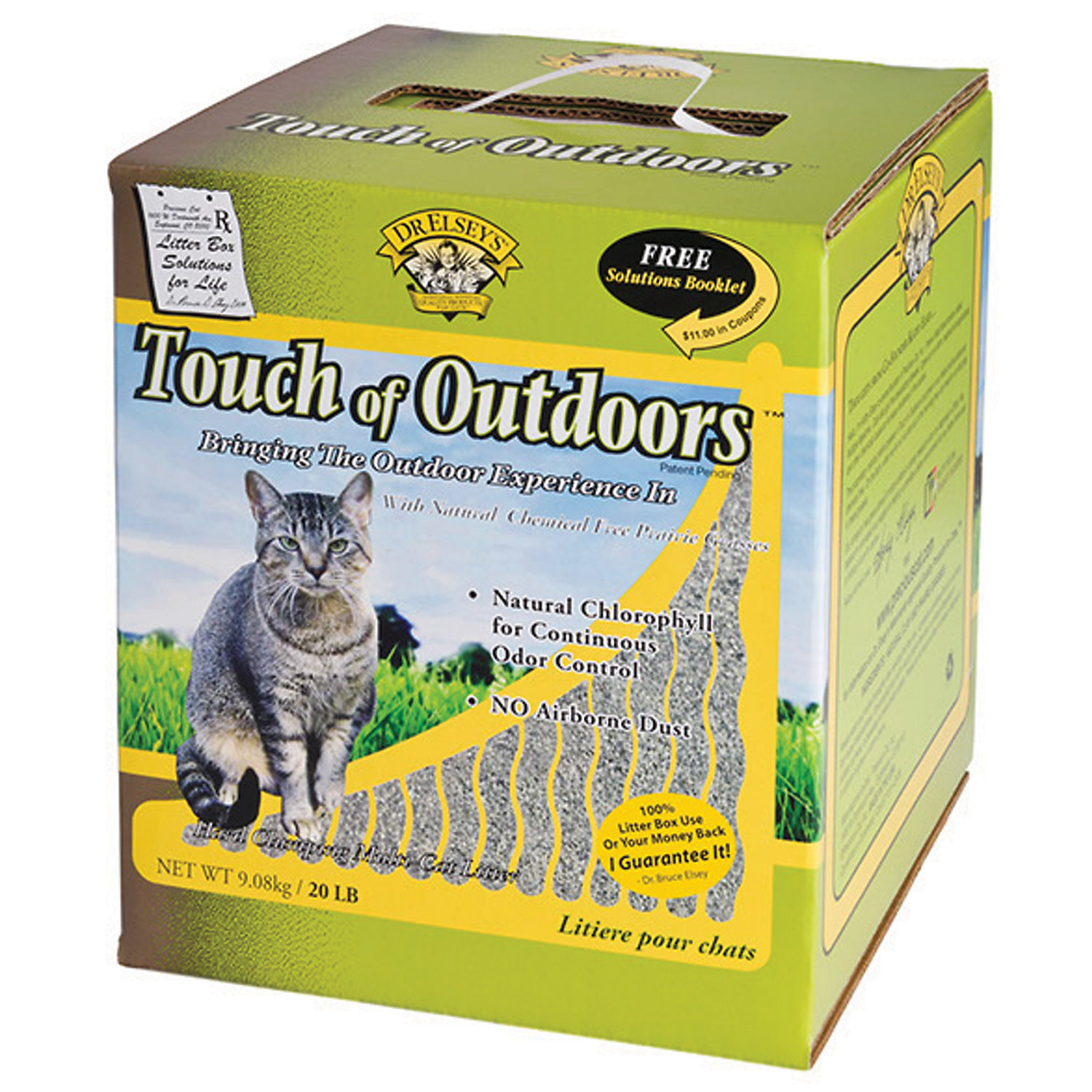 Precious Cat Dr. Elseys Touch Of Outdoors Multi Cat Litter 20 Lbs.