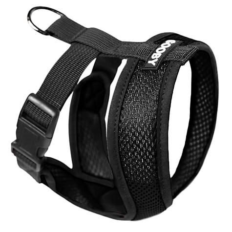 Gooby Choke Free Comfort X Soft Harness, Black | Petco