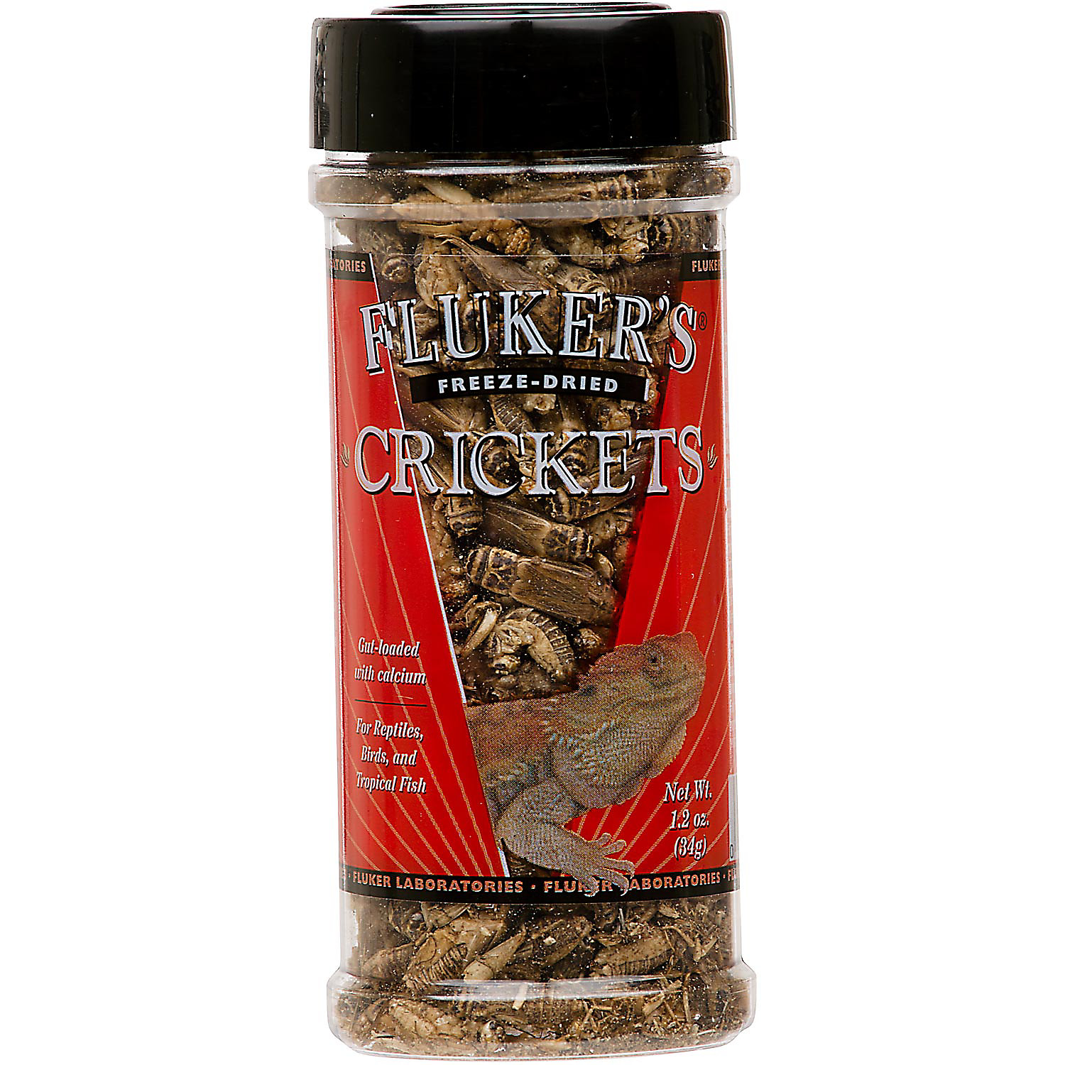 Flukers Freeze Dried Crickets 1.2 Oz.