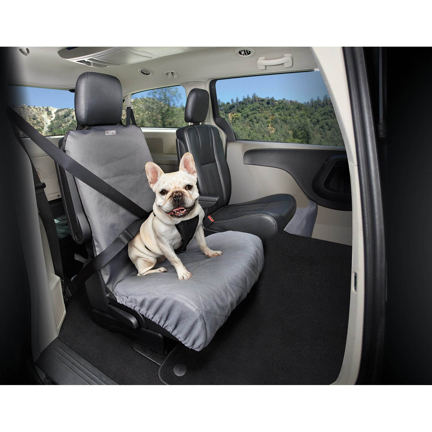 Good2Go No Fur Zone Dog Bucket Seat Car Cover
