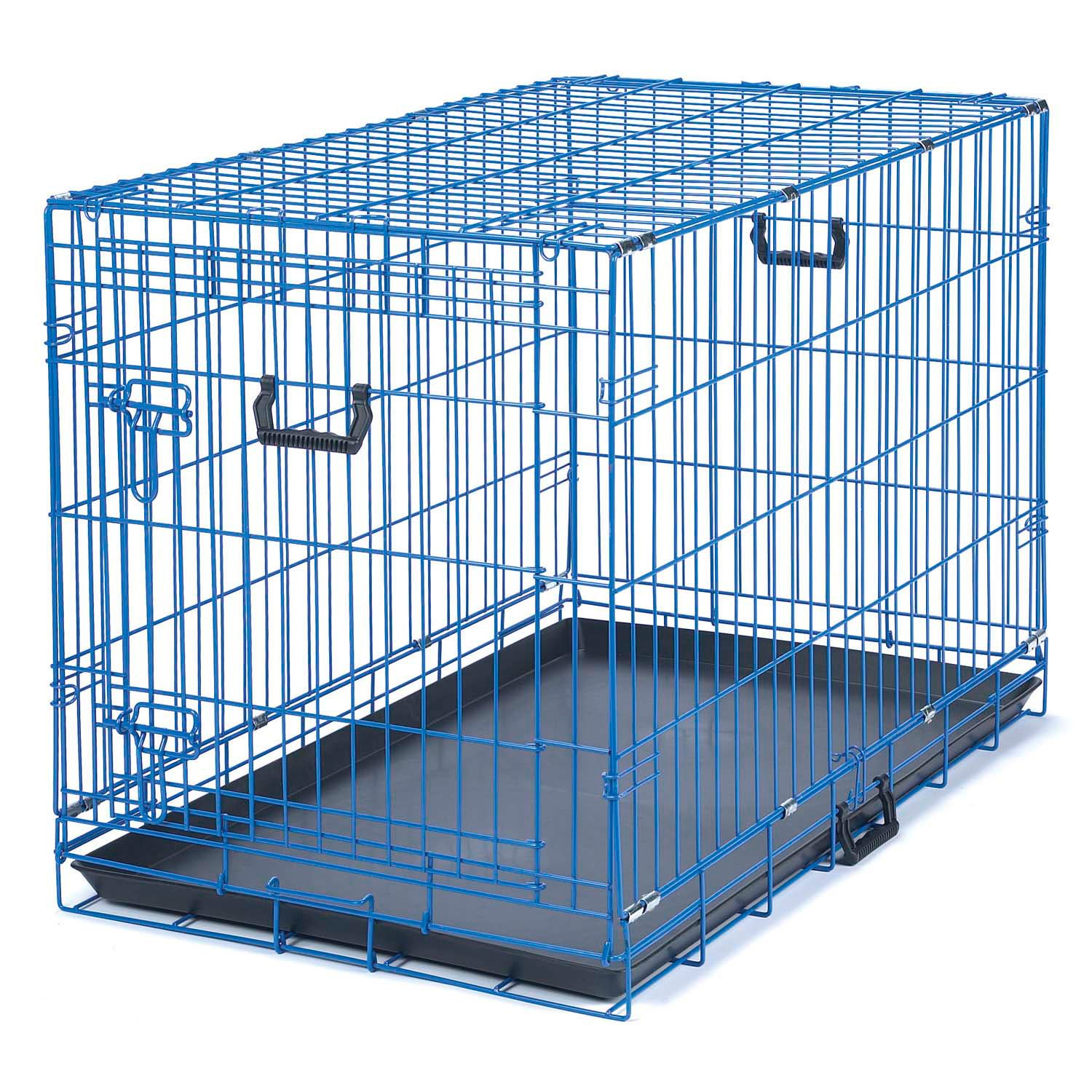 be good appeal color blue dog crate  petco - be good appeal color blue dog crate