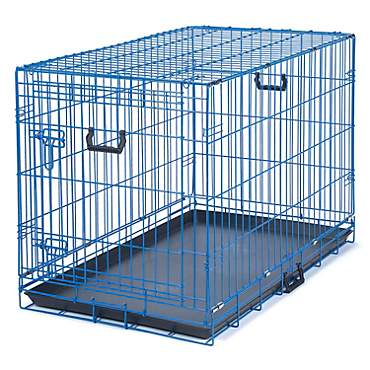 Be Good Appeal Color Blue Dog Crate