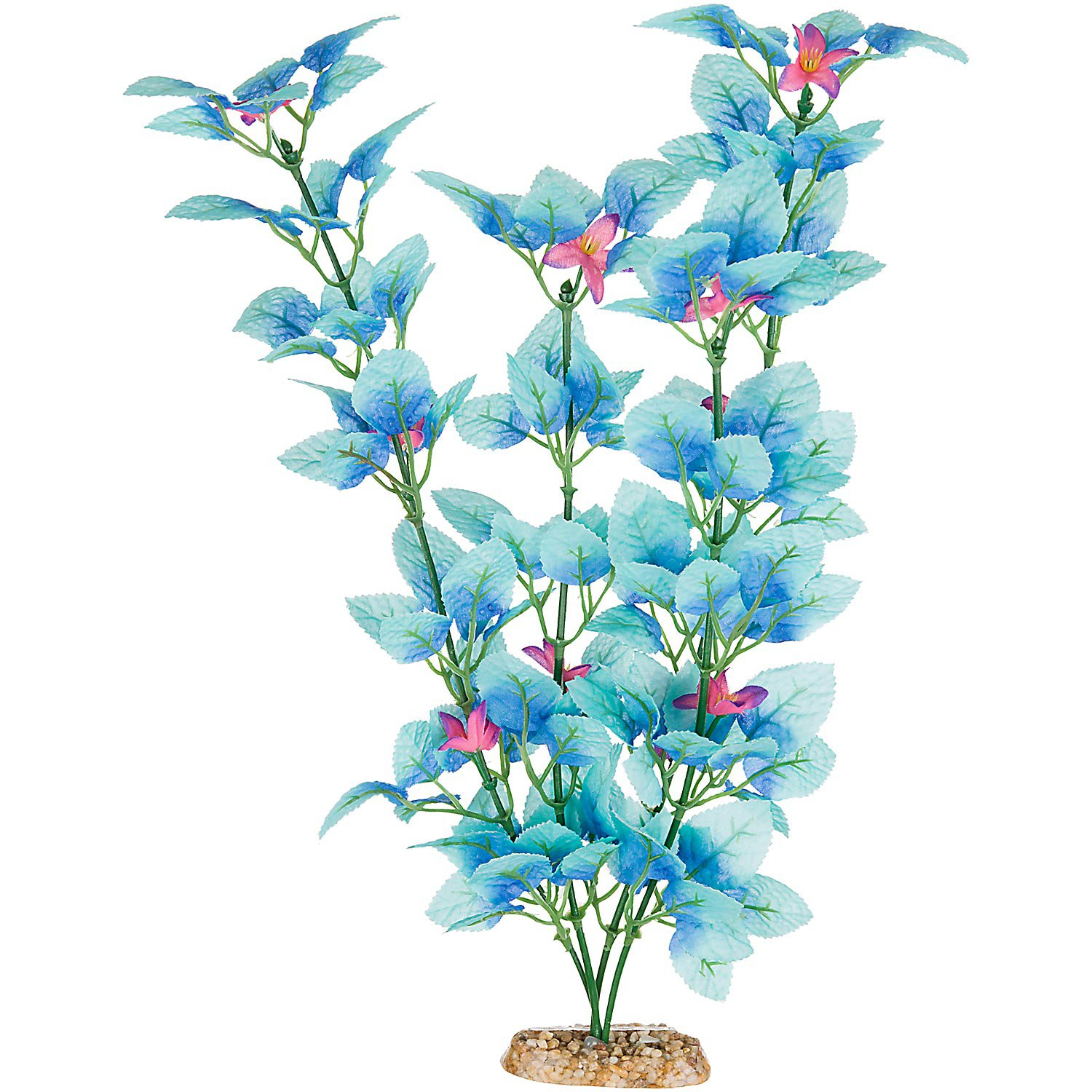 Imagitarium Blue Fiesta Silk Aquarium Plant Petco