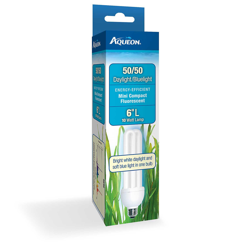 Aqueon 50/50 Mini Compact Fluorescent Bulb 10 Watts