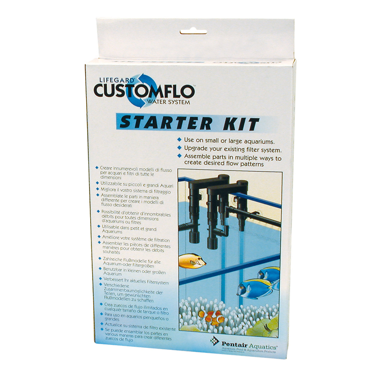 Lifegard Aquatics Customflo Water System Starter Kit