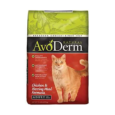 AvoDerm Natural Chicken & Herring Meal Formula Dry Cat Food