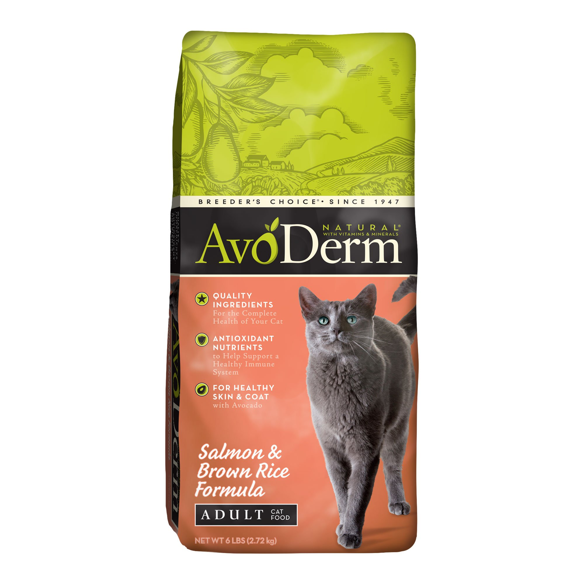 Avoderm Natural Salmon Brown Rice Adult Cat Food