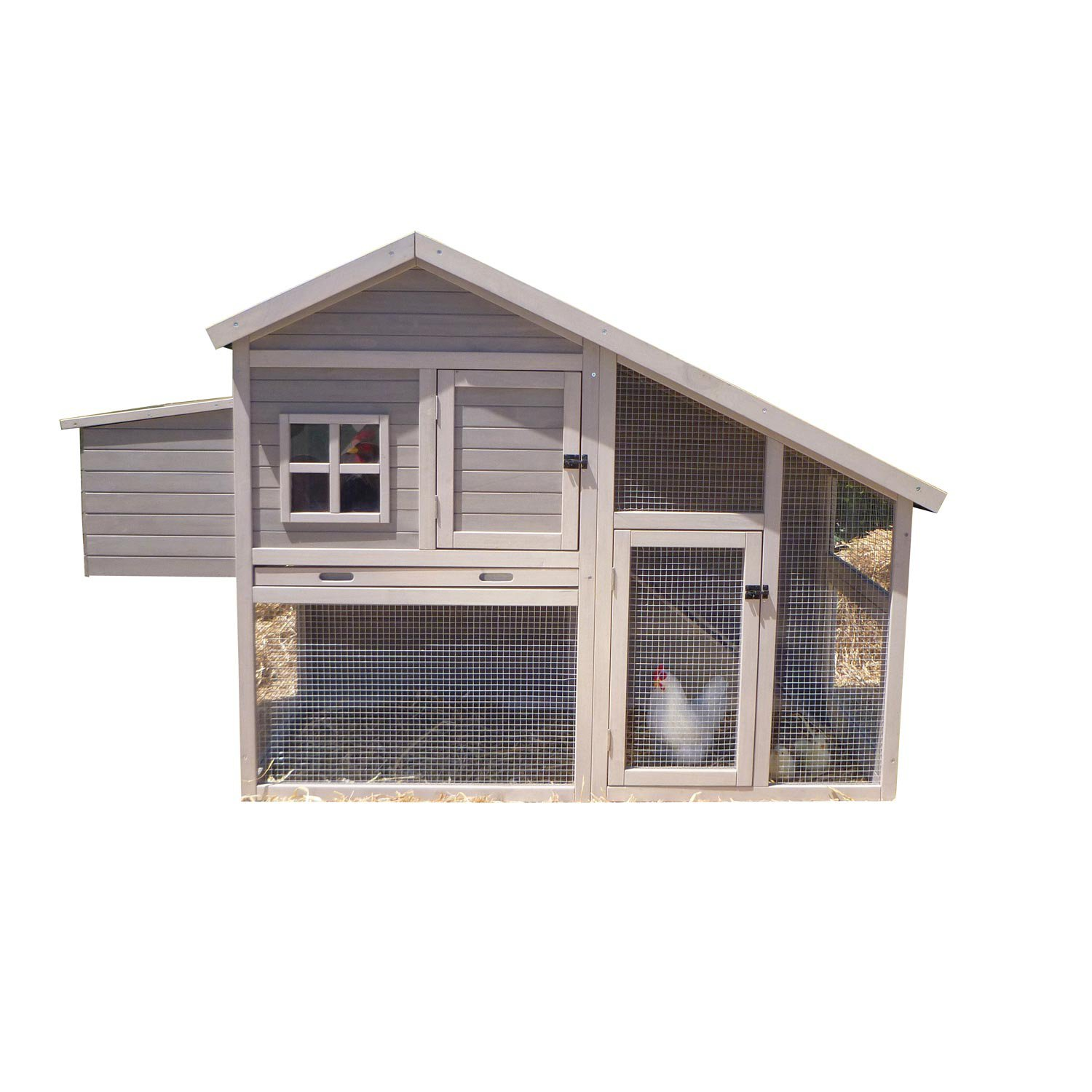 precision pet extreme cape cod chicken coop petco