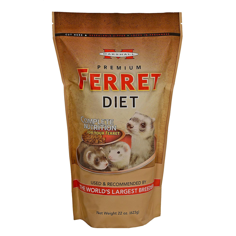Marshall Pet Products Premium Ferret Diet 22 Oz.