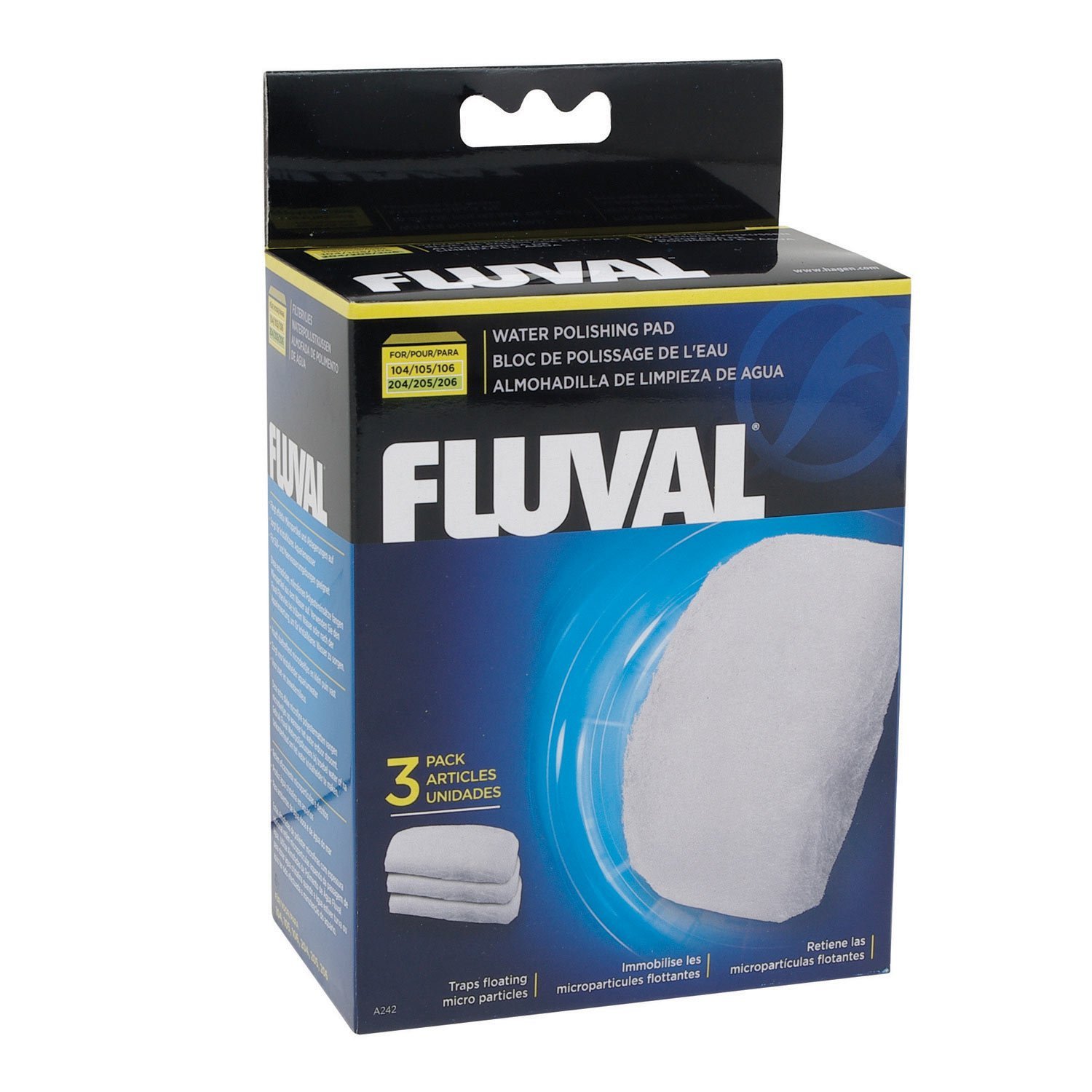 Fluval water polishing pad petco for Petco fish tank filters