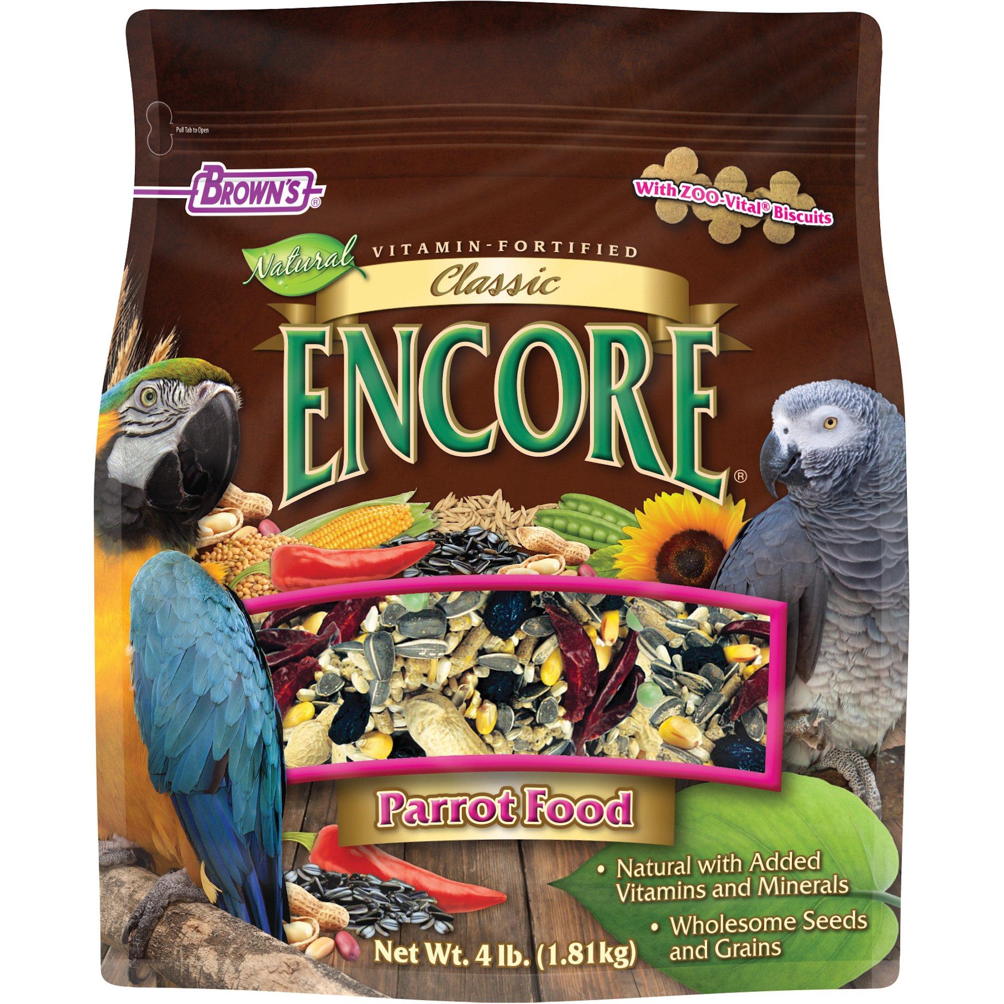 Brown's Encore Classic Parrot Food