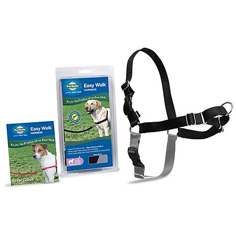 PetSafe Easy Walk Black Dog Harness