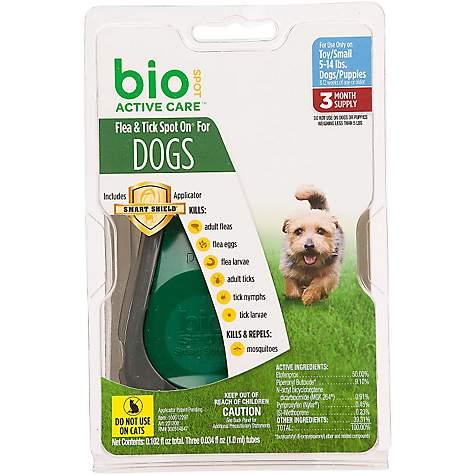 Bio Spot Active Care Flea Tick Dog On Licator Small Petco