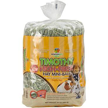 American Pet Diner Timothy High-Fiber Hay