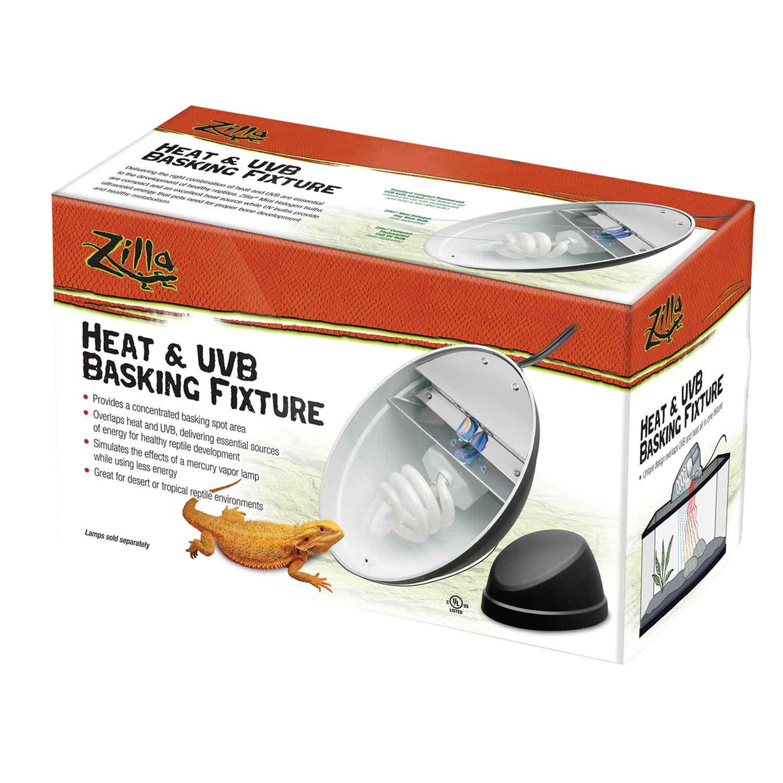 Zilla heat uvb basking fixture petco for Fish tank heater petco