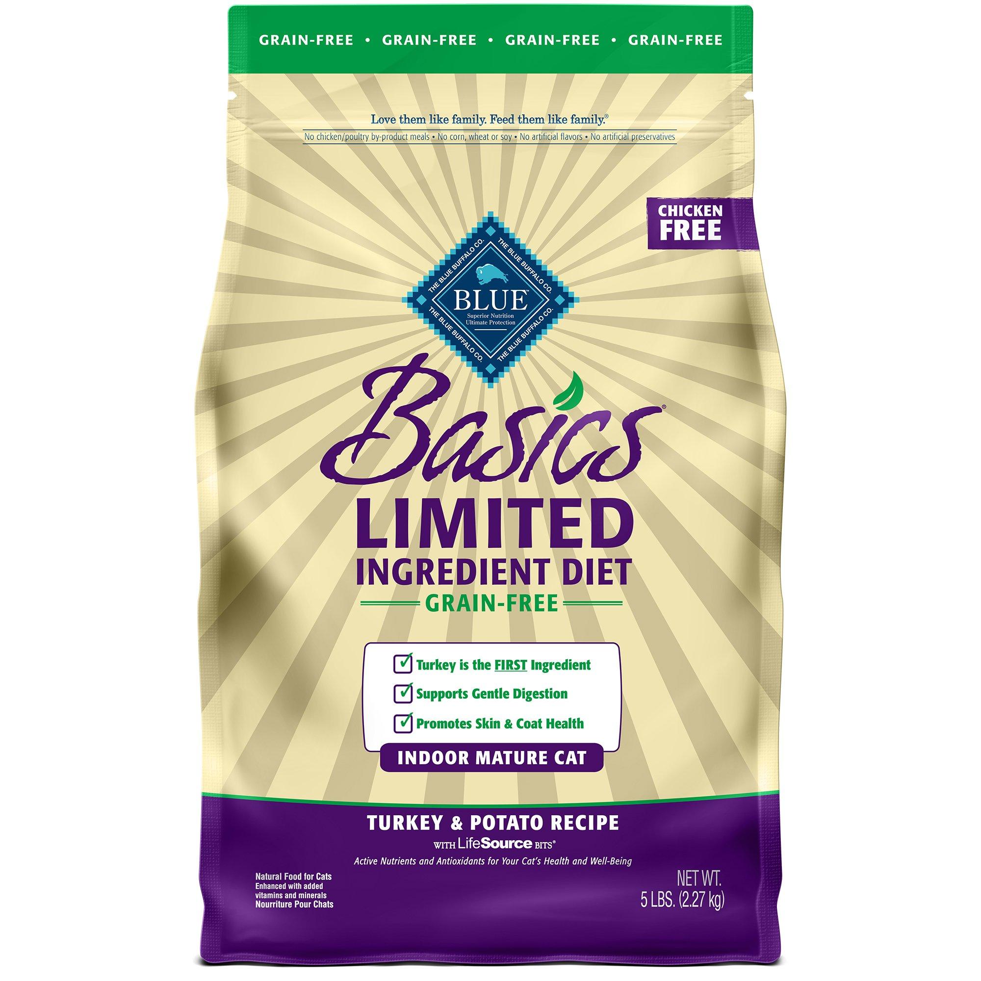 Blue Buffalo Basics Turkey And Potato Cat Food