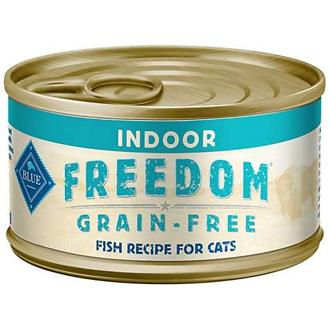 Blue Buffalo Blue Freedom Grain-Free Indoor Fish Recipe Wet Cat Food