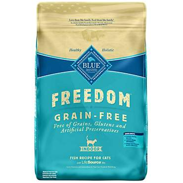 Blue Buffalo Blue Freedom Grain-Free Adult Indoor Fish Recipe Dry Cat Food