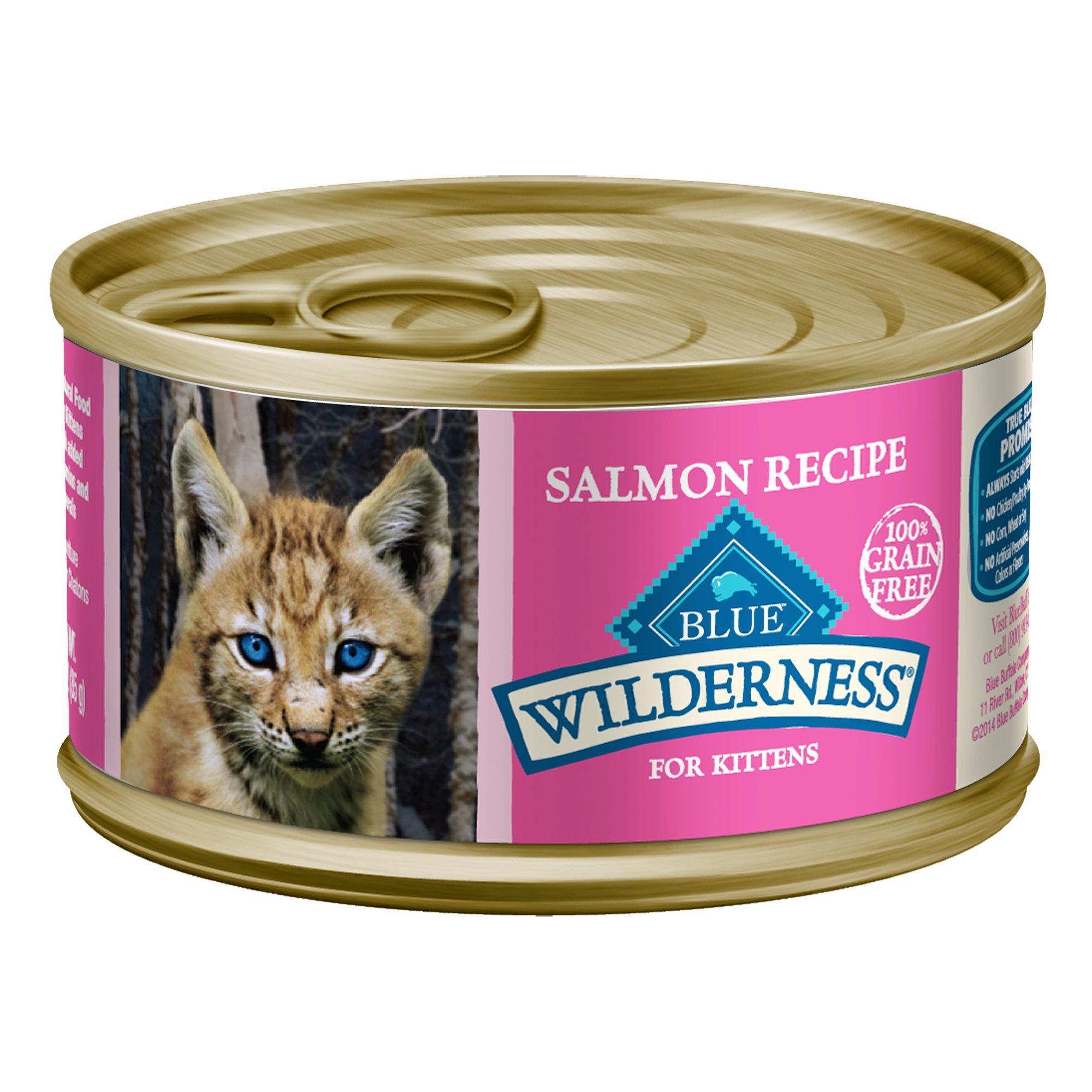 Blue Wilderness Salmon Wet Cat Food