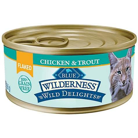 Blue Buffalo Blue Wilderness Wild Delights Flaked Chicken Trout