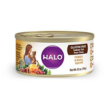 Halo Gluten Free Turkey & Quail Recipe Wet Cat Food