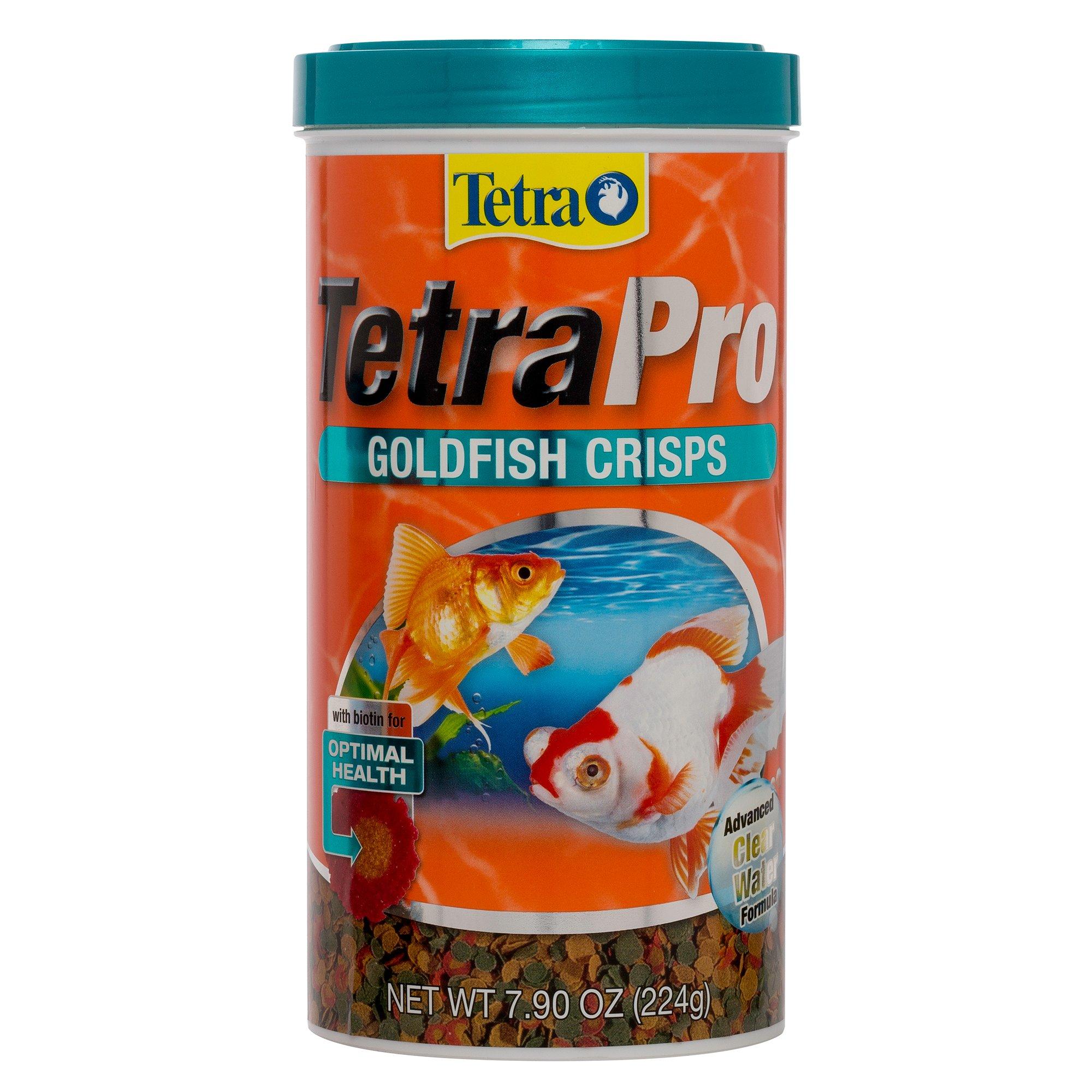 Tetra pro goldfish food 7 9 oz petco for Feeder fish petco