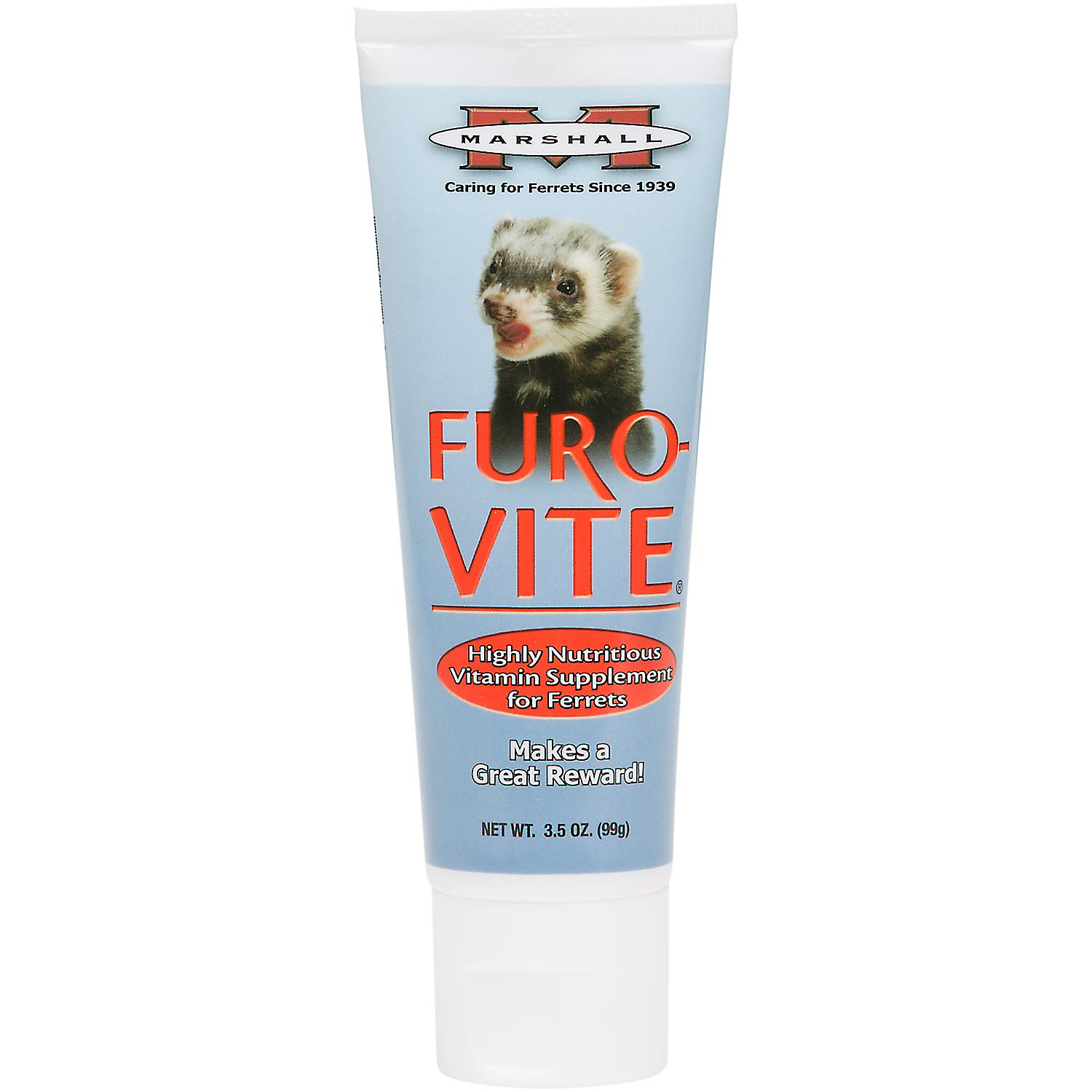 Marshall Pet Products Furo Vite Highly Nutritious Ferret Vitamin Supplement 3.5 Oz.