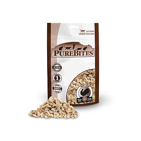 PureBites Freeze Dried Turkey Breast Cat Treats