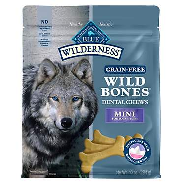 Blue Buffalo Blue Wilderness Wild Bones Mini Dog Chews