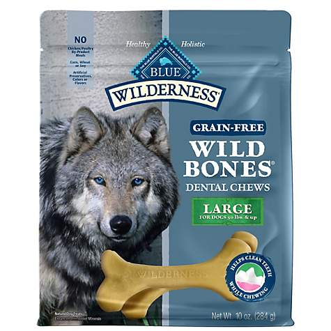 Blue Buffalo Blue Wilderness Wild Bones Large Dog Chews