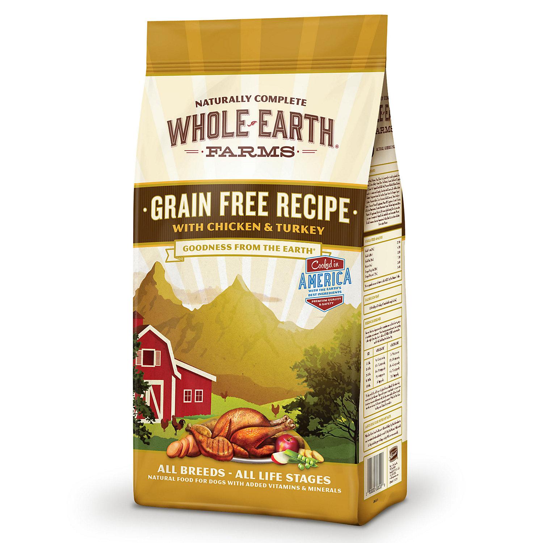 UPC Whole Earth Farms Grain Free Chicken