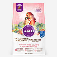 Halo Spot's Stew Healthy Weight Grain Free Whitefish & Salmon Toy & Small Breed Adult Dog Food