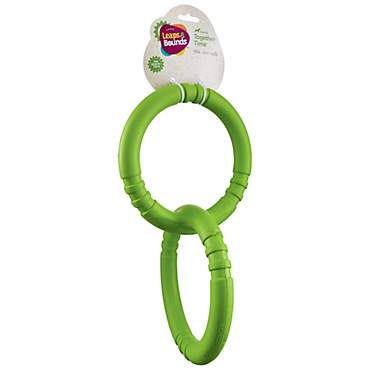Leaps & Bounds Rubber Tug Rings Dog Toy