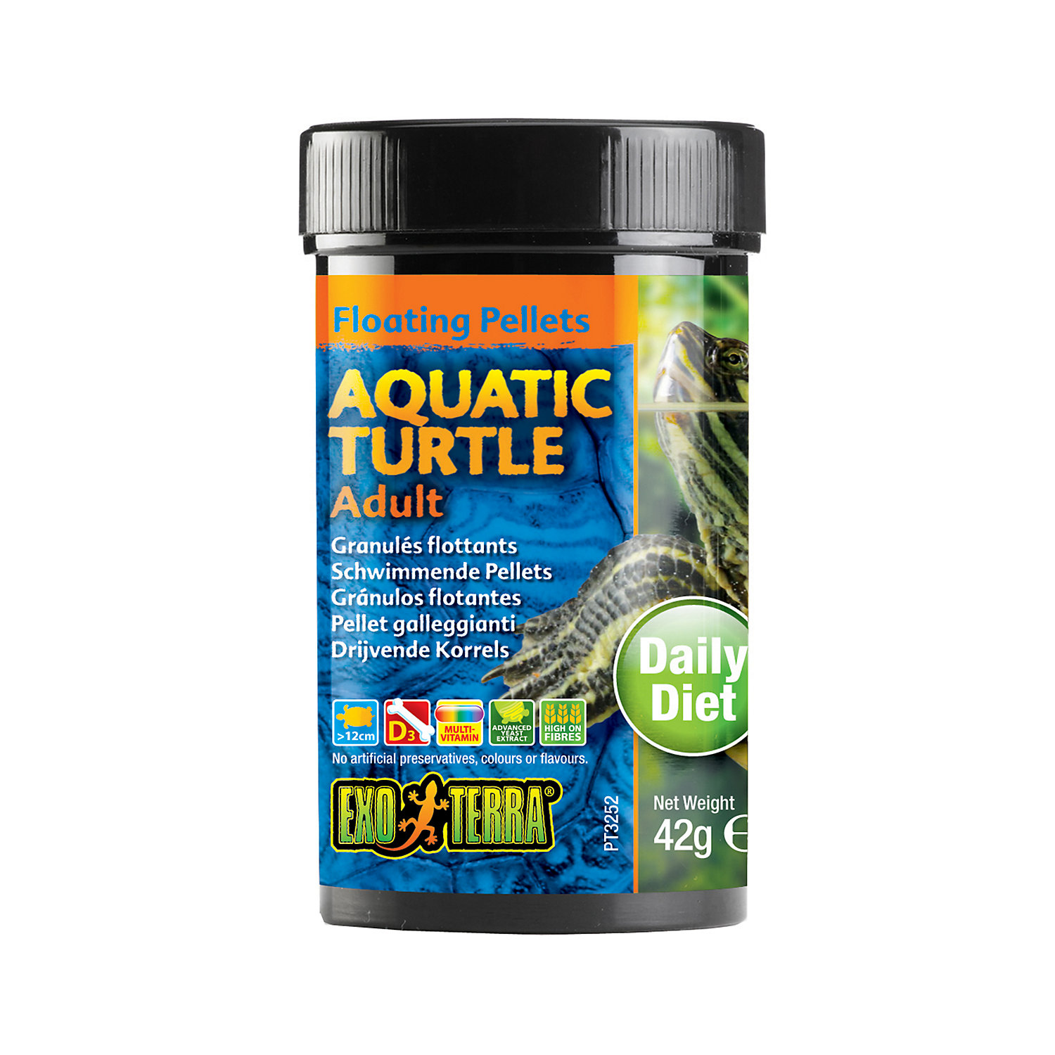 Exo Terra Floating Pellets For Aquatic Turtle