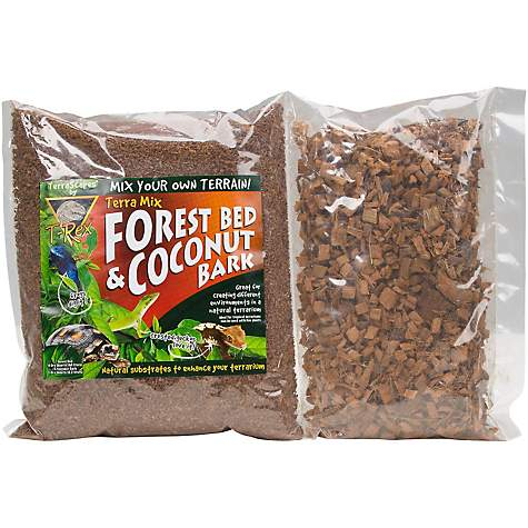 T-Rex Terra Mix Forest Bed & Coconut Bark Reptile Substrate
