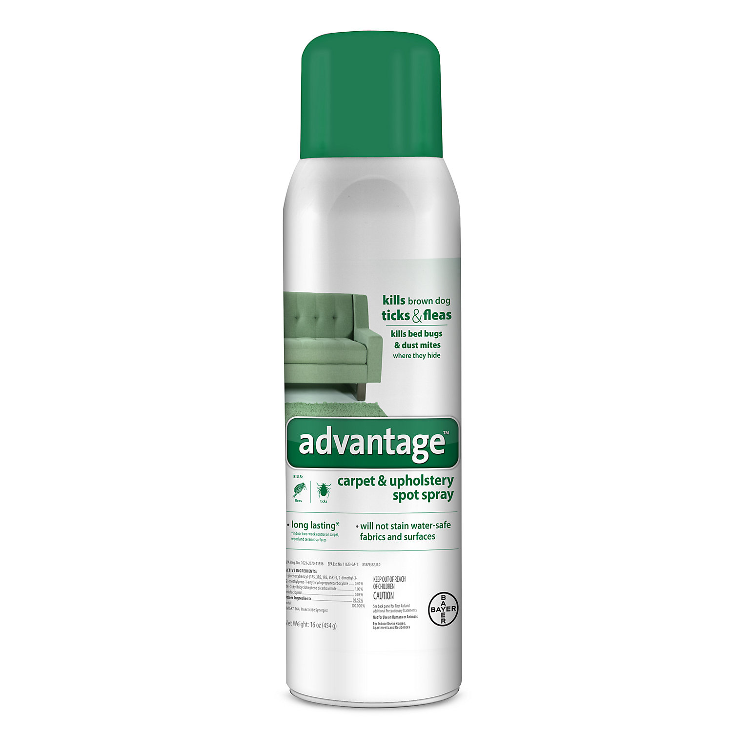 Advantage Carpet Upholstery Spot Spray 16 Oz.