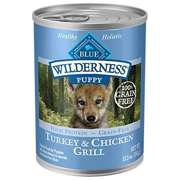 Blue Buffalo Blue Wilderness Puppy Turkey & Chicken Grill Wet Dog Food