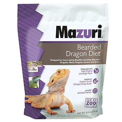 Mazuri Bearded Dragon Diet