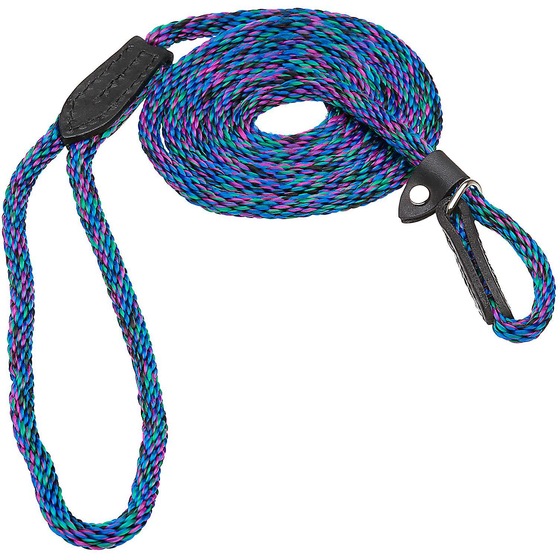 Hamilton London Quick Blue Braid Dog Collar Leash Combo 6 L X 5/16 W