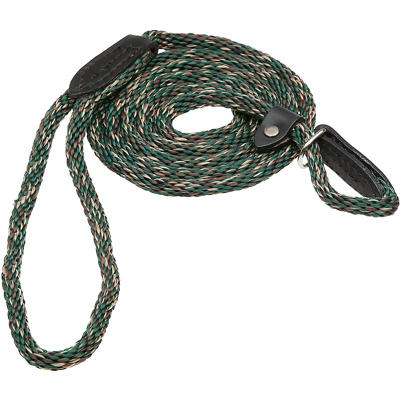 Hamilton London Quick Green Braid Dog Collar Leash Combo