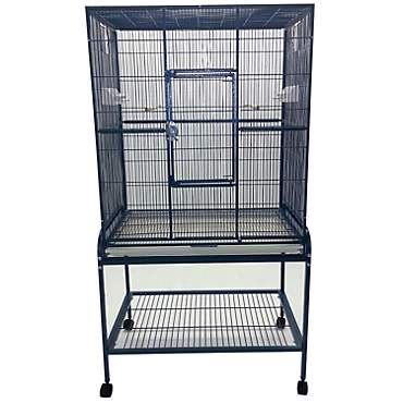 A&E Cage Company Flight Bird Cage in Blue