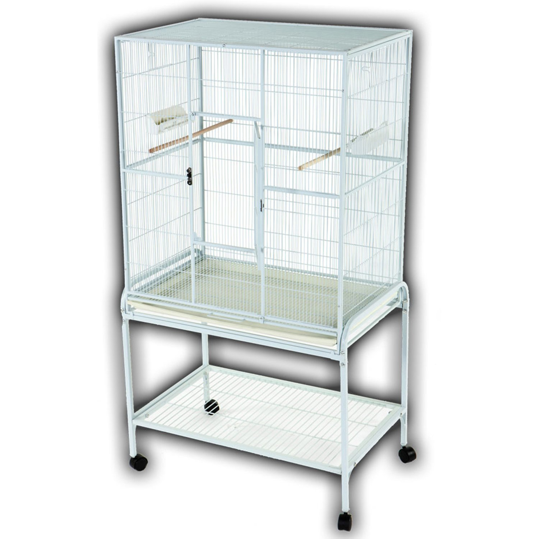 A Amp E Cage Company Flight Bird Cage In Platinum Petco